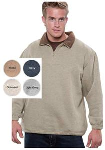 Vos Quarter Zip Nubby Fleece Pull Overs