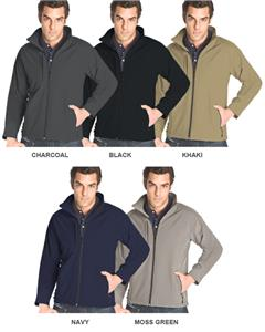 Vos Windproof/Water Resistant Soft Shell Jackets
