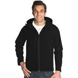 Vos Hooded Wind/Water Resistant Soft Shell Jackets