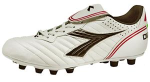 Diadora Scudetto LT MD PU Soccer Cleats - White