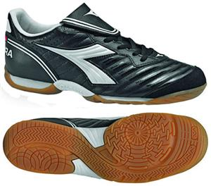 Diadora Indoor Scudetto LT ID Soccer Shoes - Black