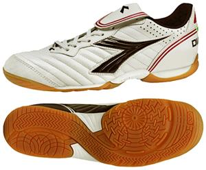 Diadora Indoor Scudetto LT ID Soccer Shoes - White