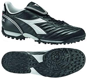 Diadora Scudetto LT TF Soccer Shoes - Black