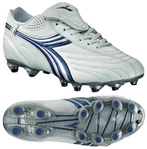 Diadora Stile 10 LT MG 14 W Soccer Cleats - White