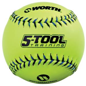 "Worth 5-Tool Training 12"" Reaction Softballs"