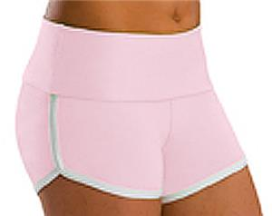 Low Rise Roll Top Pink Cheerleaders Shorts