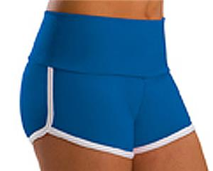 Low Rise Roll Top Royal Cheerleaders Shorts