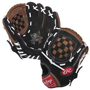 "Rawlings Youth Savage 9.5"" T-Ball Baseball Gloves"