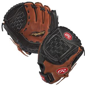 "Rawlings Youth Savage 10.5"" Baseball Gloves"