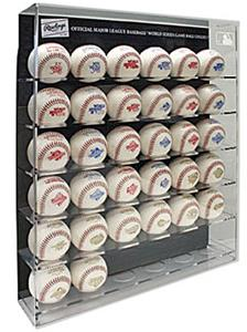 Rawlings World Series Baseball Collection w/Case