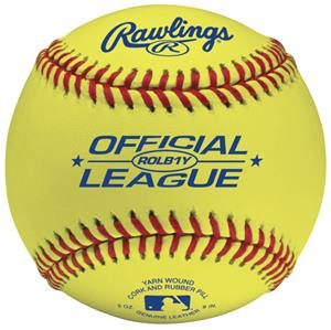 Rawlings ROLB1Y Official League Practice Baseballs