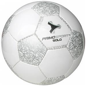 Primo Solo Match Soccer Ball SILVER #4 Closeout