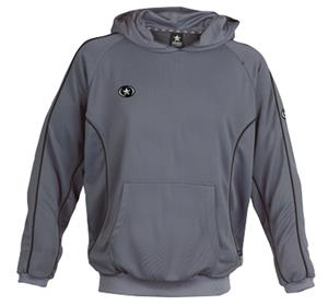 Primo Hooded Pullover Gray Sweatshirt Closeout