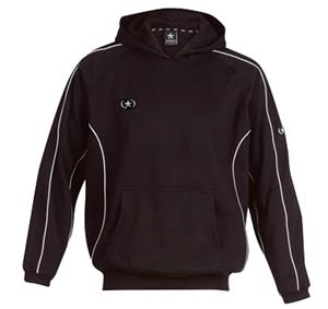 Primo Hooded Pullover Black Sweatshirt Closeout