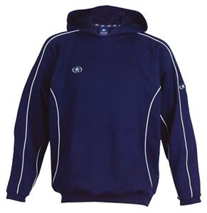 Primo Hooded Pullover Navy Sweatshirt Closeout