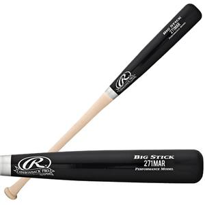 Rawlings 271MAR Adult Maple Wood Baseball Bats
