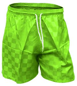 Primo Defender Checkerboard Soccer Shorts Closeout