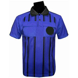 Soccer Referee Jersey Short Sleeve-ROYAL