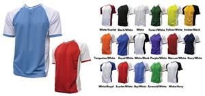 Primo Milan Crossover V-NeckSoccer Jersey Closeout