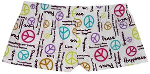 Boxercraft Womens Peace Flannel Bitty Boxer Shorts