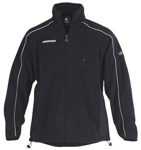 Primo Polar Fleece Zip Black Jacket Closeout