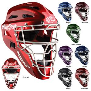 Rawlings HLCH1S Baseball Catcher's Helmets-NOCSAE