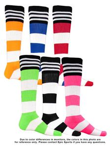 Red Lion Stripe on Stripe Athletic Socks