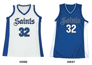 Stock Dazzle Basketball Jerseys With Panels