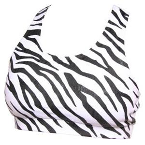 Boxercraft Women/Girl Support Your Team Zebra Bras
