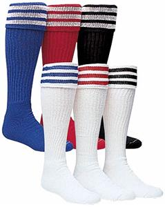 High Five 3-Stripe Soccer Socks-Closeout