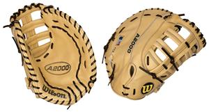 WTA2800 1613-BL Leather 1st Base Baseball Gloves
