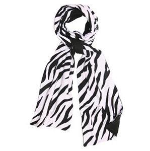 Boxercraft Zebra Print Flannel Scarf
