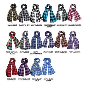 Boxercraft Plaid Flannel Scarves