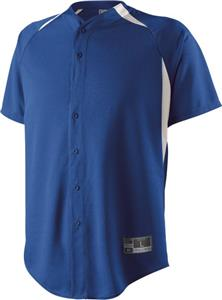 Holloway Octane Full Button Baseball Jersey