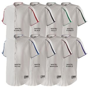 Holloway Transport Full Button Baseball Jersey