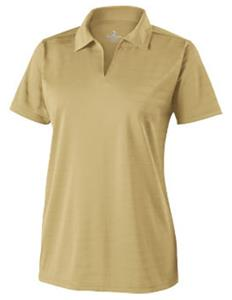Holloway Ladies Clubhouse Textured Stripe Polo
