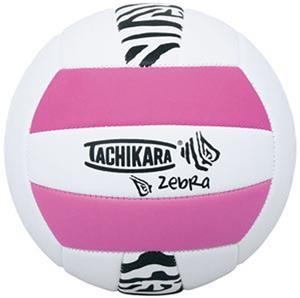 Tachikara SofTec Zebra Indoor/Outdoor Volleyball