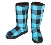 Boxercraft Plaid Flannel Outdoor Boots