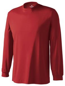 Holloway Spark Micro-Interlock Long Sleeve Shirts