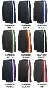 Pennant Flatback Mesh Club Shorts