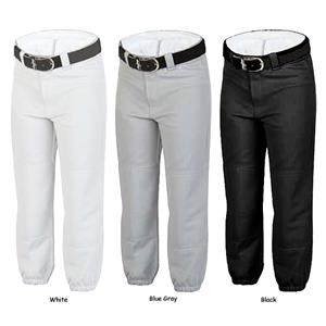 Rawlings Youth Fake Fly Pull Up Baseball Pants