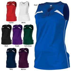 Rawlings Womens &quot;Rise Ball&quot; Softball Jerseys