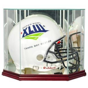 "Perfect ""Football Helmet"" Octagon Display Cases"