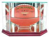 "Perfect Cases ""Football"" Octagon Display Cases"