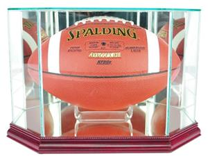 "Perfect ""Football"" Octagon Display Cases"