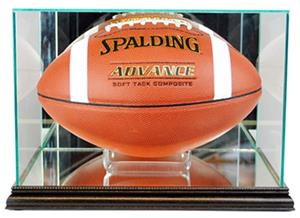 "Perfect ""Football"" Rectangle Display Cases"