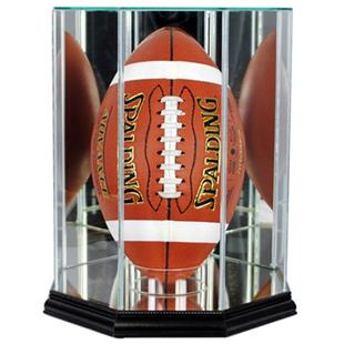 """Perfect Cases """"Football Upright"""" Display Cases"""