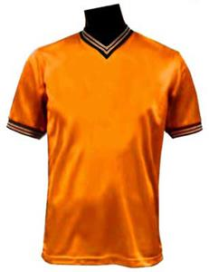 Pre-Numbered - ORANGE Soccer Jerseys W/BLACK #s
