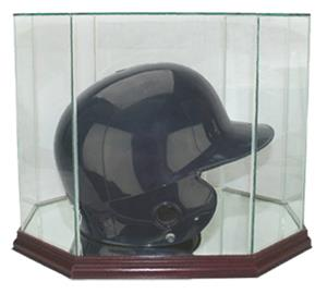 Perfect &quot;Batting Helmet&quot; Octagon Display Cases