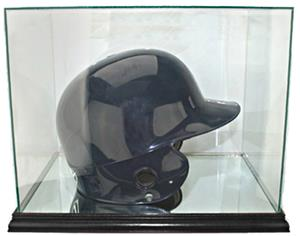"Perfect ""Batting Helmet"" Rectangle Display Cases"